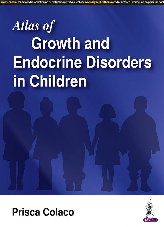 Portada del libro 9789386322807 Atlas of Growth and Endocrine Disorders in Children