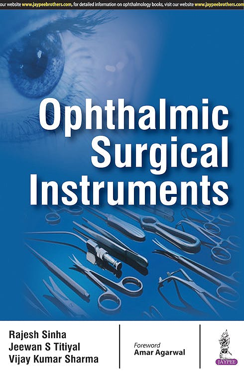 Portada del libro 9789386322975 Ophthalmic Surgical Instruments