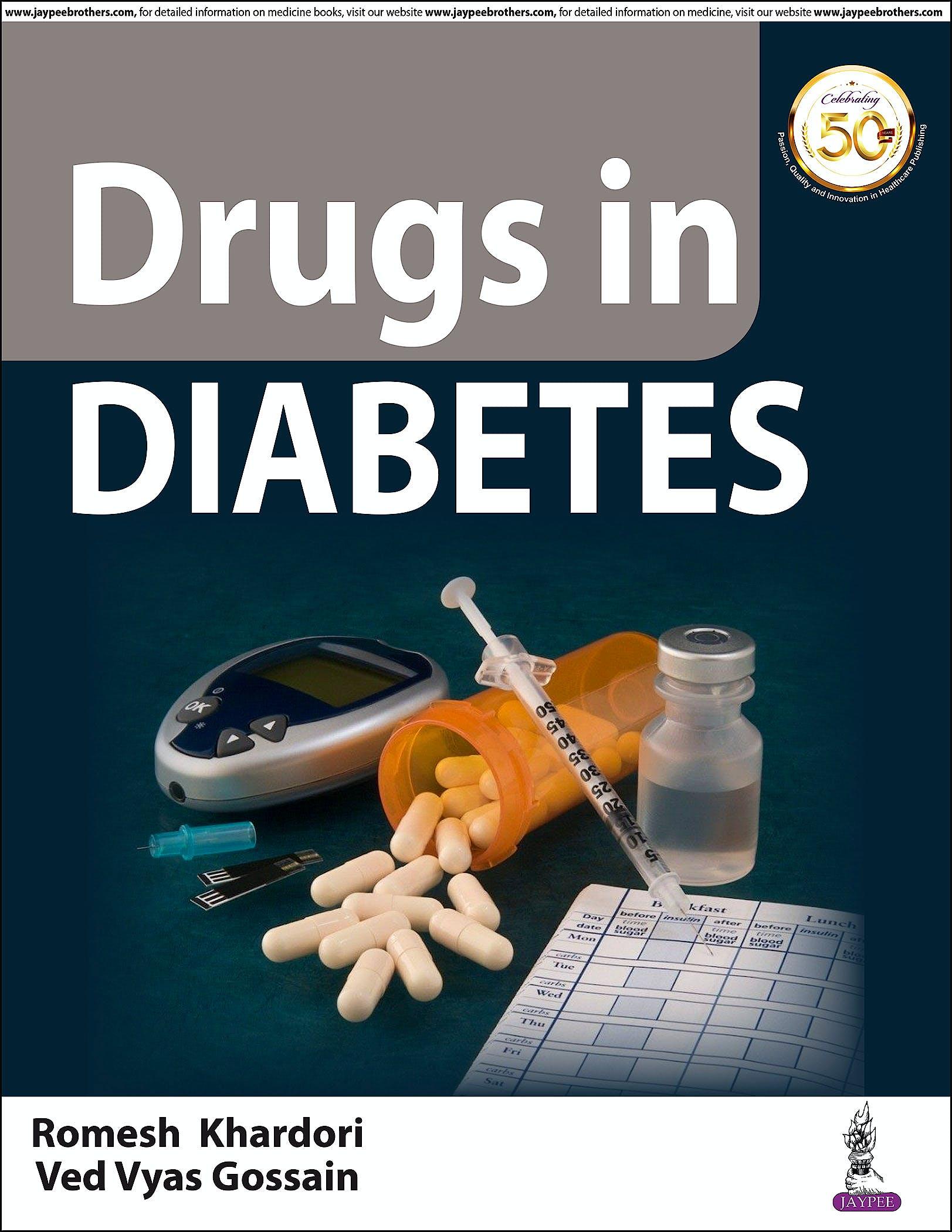 Portada del libro 9789389188356 Drugs in Diabetes