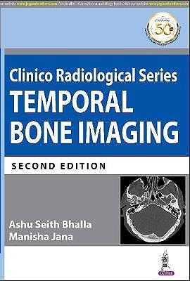 Portada del libro 9789390020737 Clinico Radiological Series. Temporal Bone Imaging