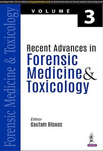 Portada del libro 9789390595327 Recent Advances in Forensic Medicine & Toxicology Volume 3