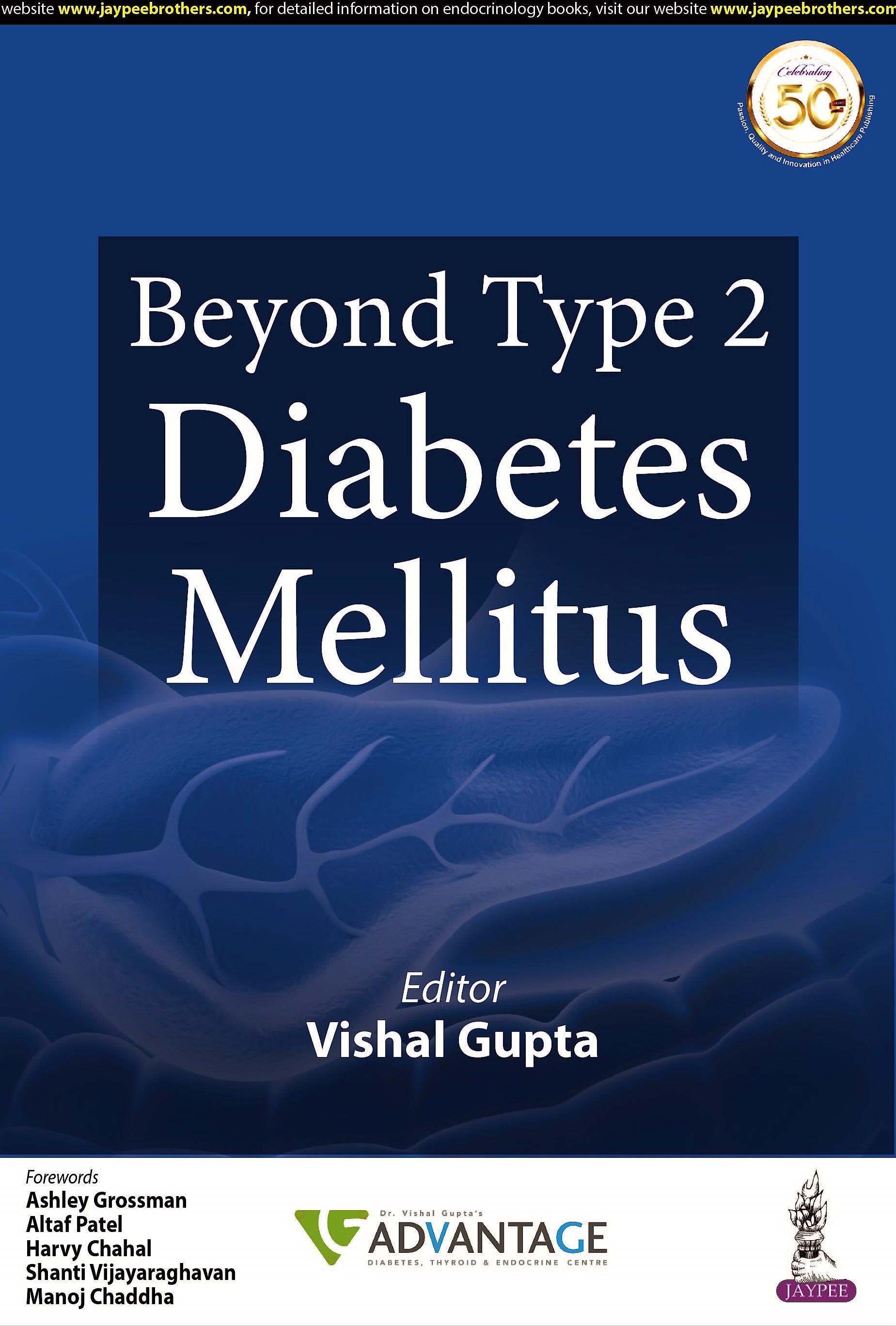 Portada del libro 9789390595501 Beyond Type 2 Diabetes Mellitus