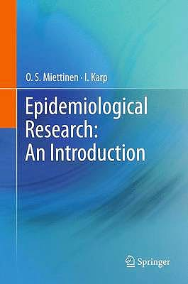 Portada del libro 9789400745360 Epidemiological Research: An Introduction (Hardcover)