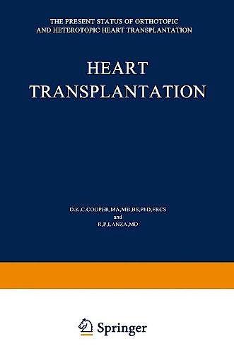 Portada del libro 9789401173261 Heart Transplantation