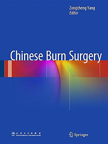 Portada del libro 9789401785747 Chinese Burn Surgery
