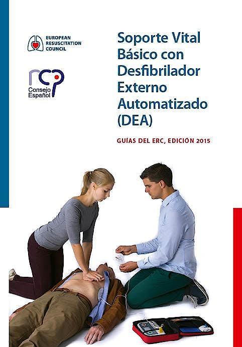 Portada del libro 9789492543073 Soporte Vital Básico con Desfibrilador Externo Automatizado (DEA). Guías del ERC. Edición 2015
