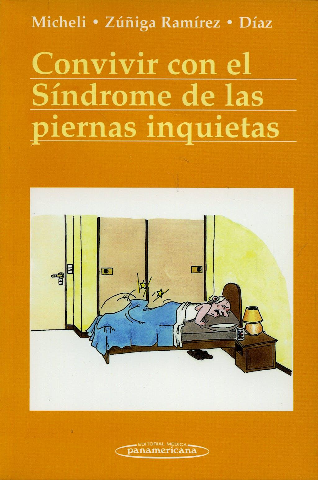 Portada del libro 9789500600828 Convivir con el Sindrome de Piernas Inquietas