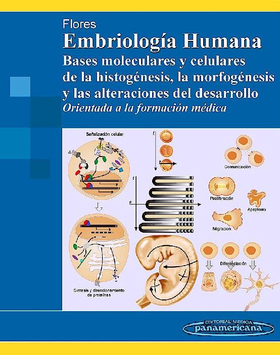 Portada del libro 9789500600927 Embriología Humana. Bases Moleculares y Celulares de la Histogénesis, la Morfogénesis y las Alteraciones del Desarrollo. Orientada a Formacion Médica