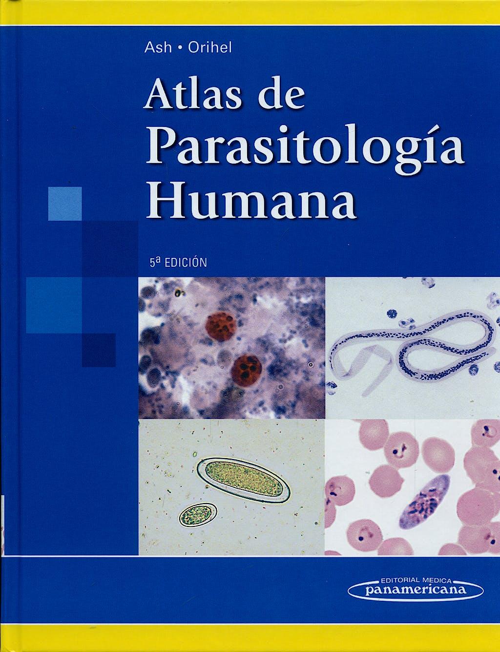 Portada del libro 9789500601283 Atlas de Parasitología Humana