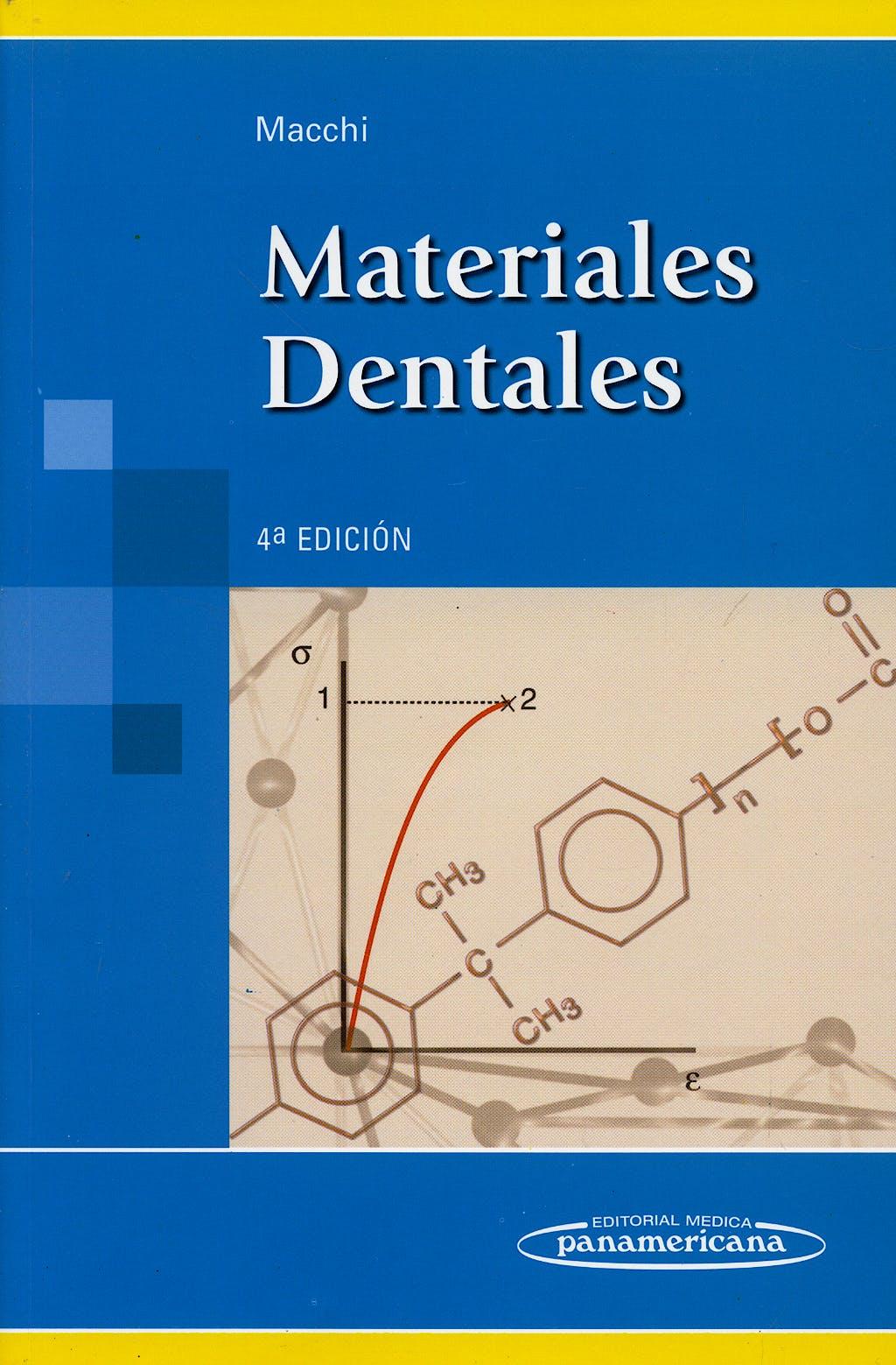 Portada del libro 9789500615839 Materiales Dentales