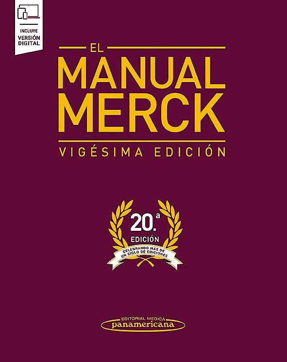 Portada del libro 9789500696326 El Manual Merck (Incluye Versión Digital)