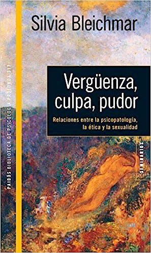 Portada del libro 9789501294255 Vergüenza, Culpa, Pudor