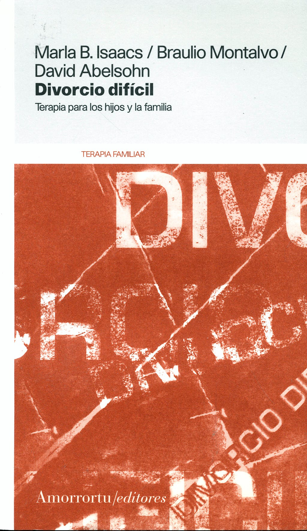 Portada del libro 9789505184965 Divorcio Dificil
