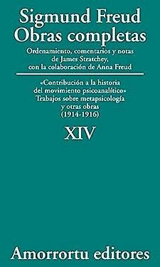 Portada del libro 9789505185900 Obras Completas. Volumen XIV: Contribución a la Historia del Movimiento Psicoanalítico, Trabajos sobre Metapsicología y Otras Obras (1914-1916)