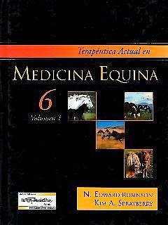 Portada del libro 9789505554072 Terapéutica Actual en Medicina Equina, 2 Vols.