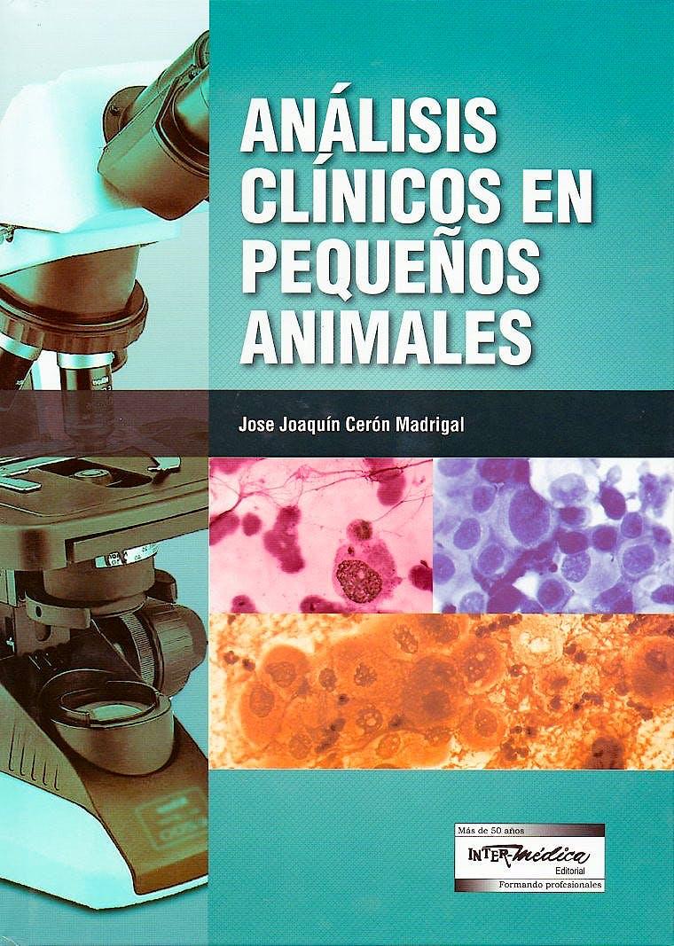 Portada del libro 9789505554171 Análisis Clínicos en Pequeños Animales