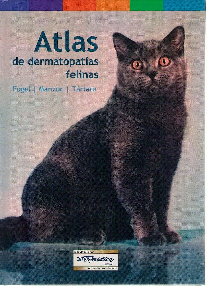 Portada del libro 9789505554515 Atlas de Dermatopatías Felinas