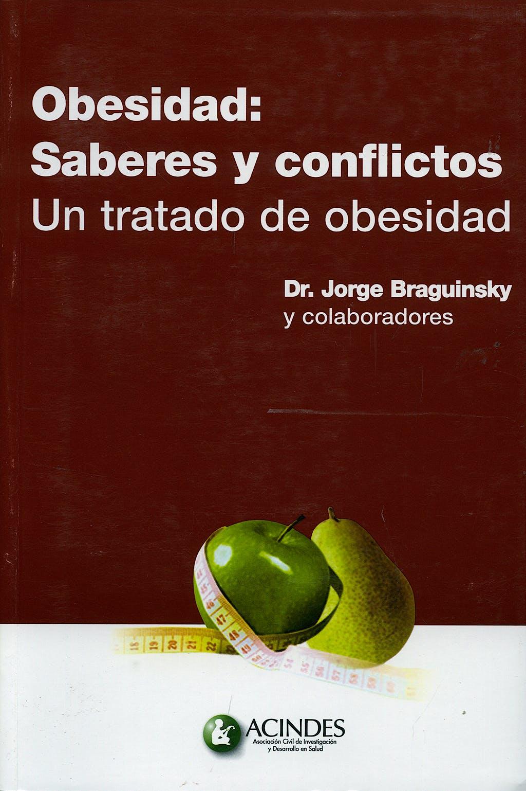 Portada del libro 9789507623646 Obesidad: Saberes y Conflictos. Un Tratado de Obesidad