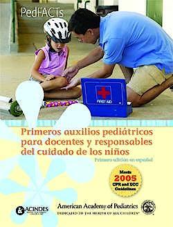 Portada del libro 9789507624155 Primeros Auxilios Pediatricos para Docentes y Responsables del Cuidado de los Niños