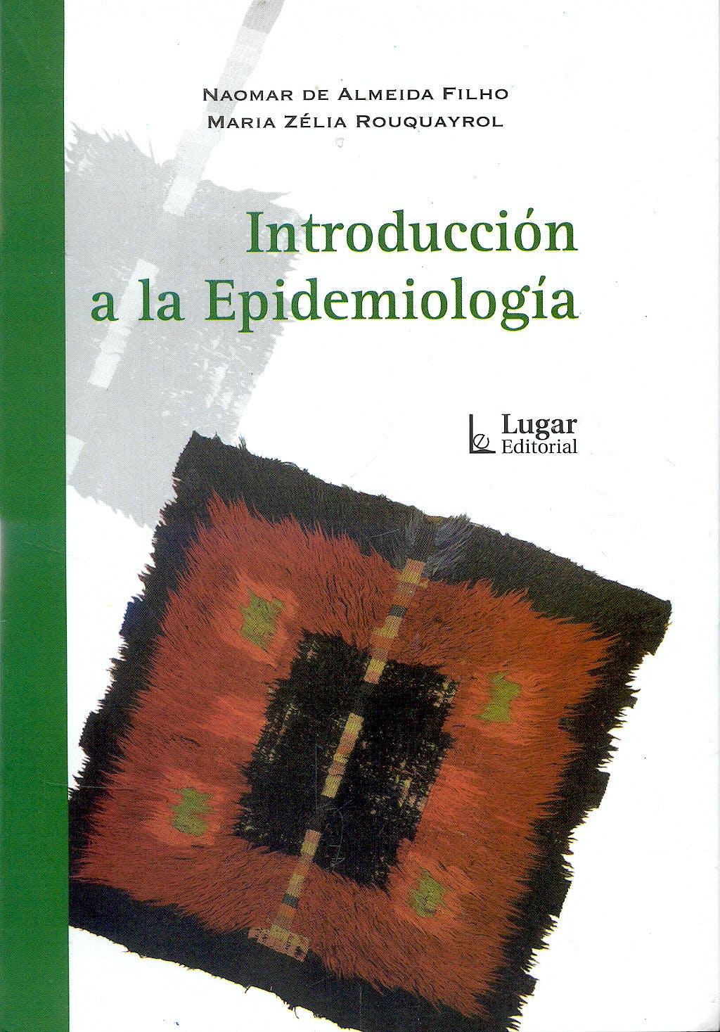 Portada del libro 9789508922946 Introduccion a la Epidemiologia