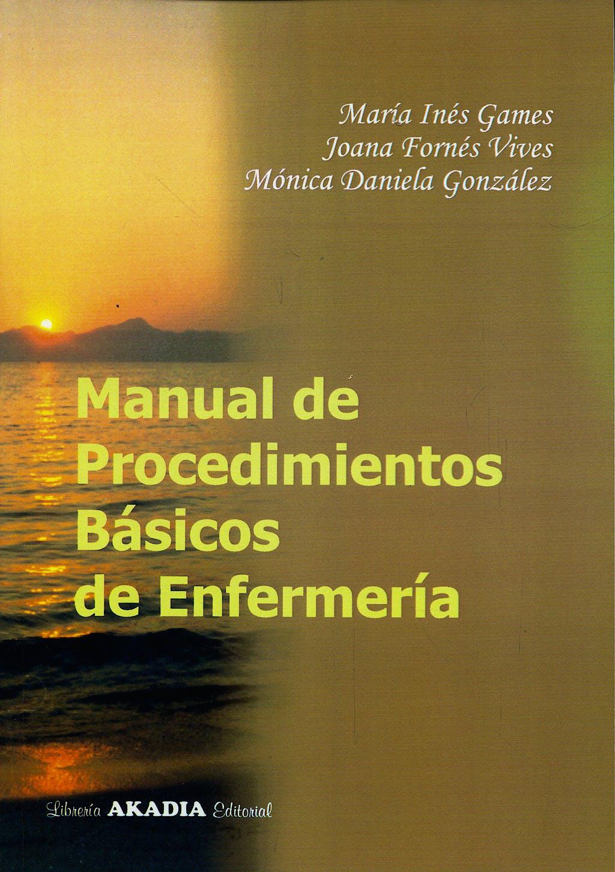 Portada del libro 9789509020993 Manual de Procedimientos Básicos de Enfermería