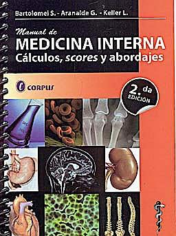Portada del libro 9789509030886 Manual de Medicina Interna. Calculos, Scores y Abordajes