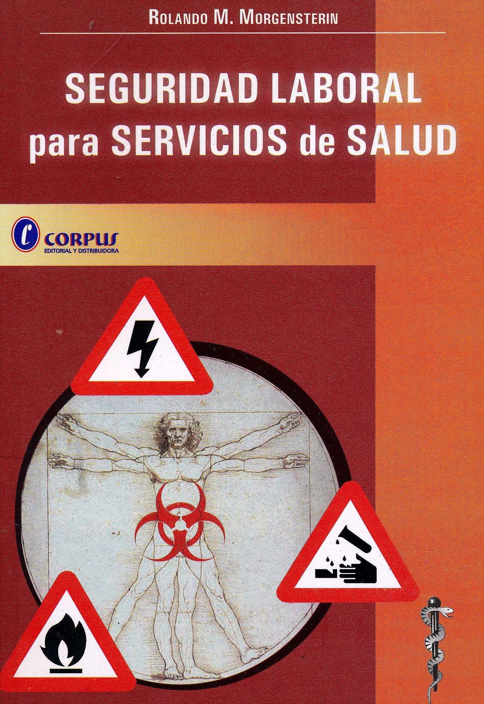 Portada del libro 9789509030923 Seguridad Laboral para Servicios de Salud