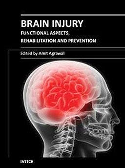 Portada del libro 9789535101215 Brain Injury - Functional Aspects, Rehabilitation and Prevention