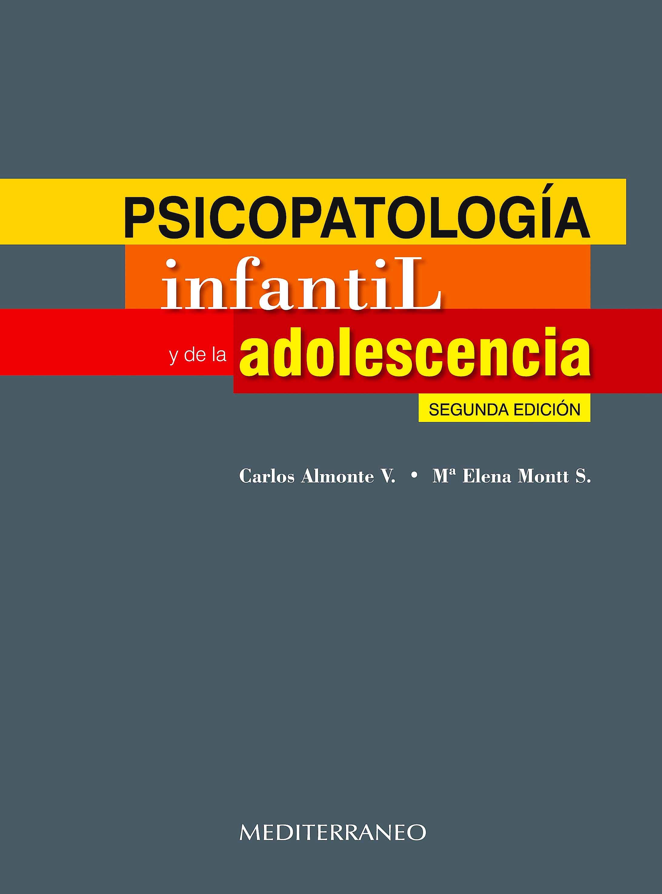 Portada del libro 9789562203319 Psicopatologia Infantil y de la Adolescencia