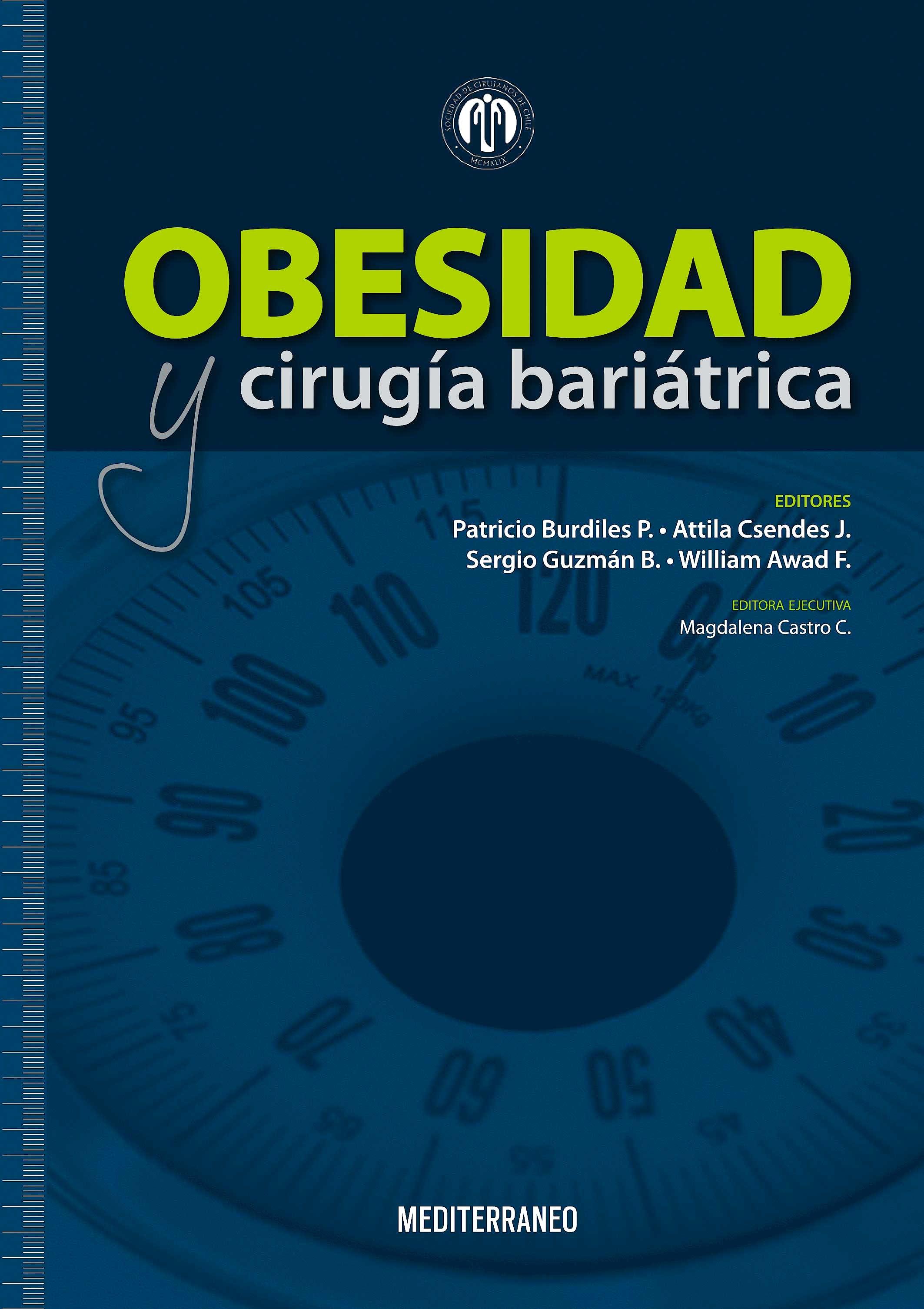 Portada del libro 9789562203326 Obesidad y Cirugia Bariatrica