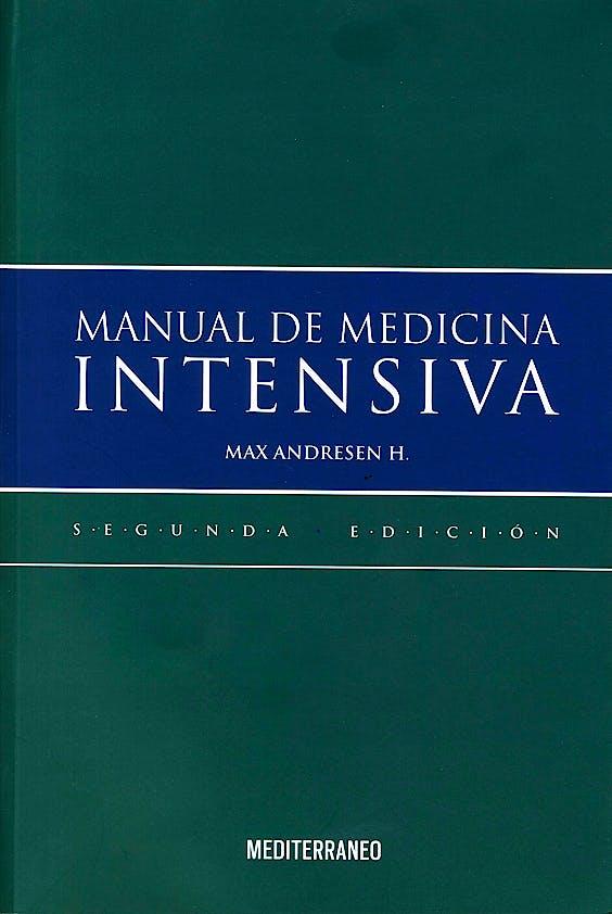 Portada del libro 9789562203579 Manual de Medicina Intensiva