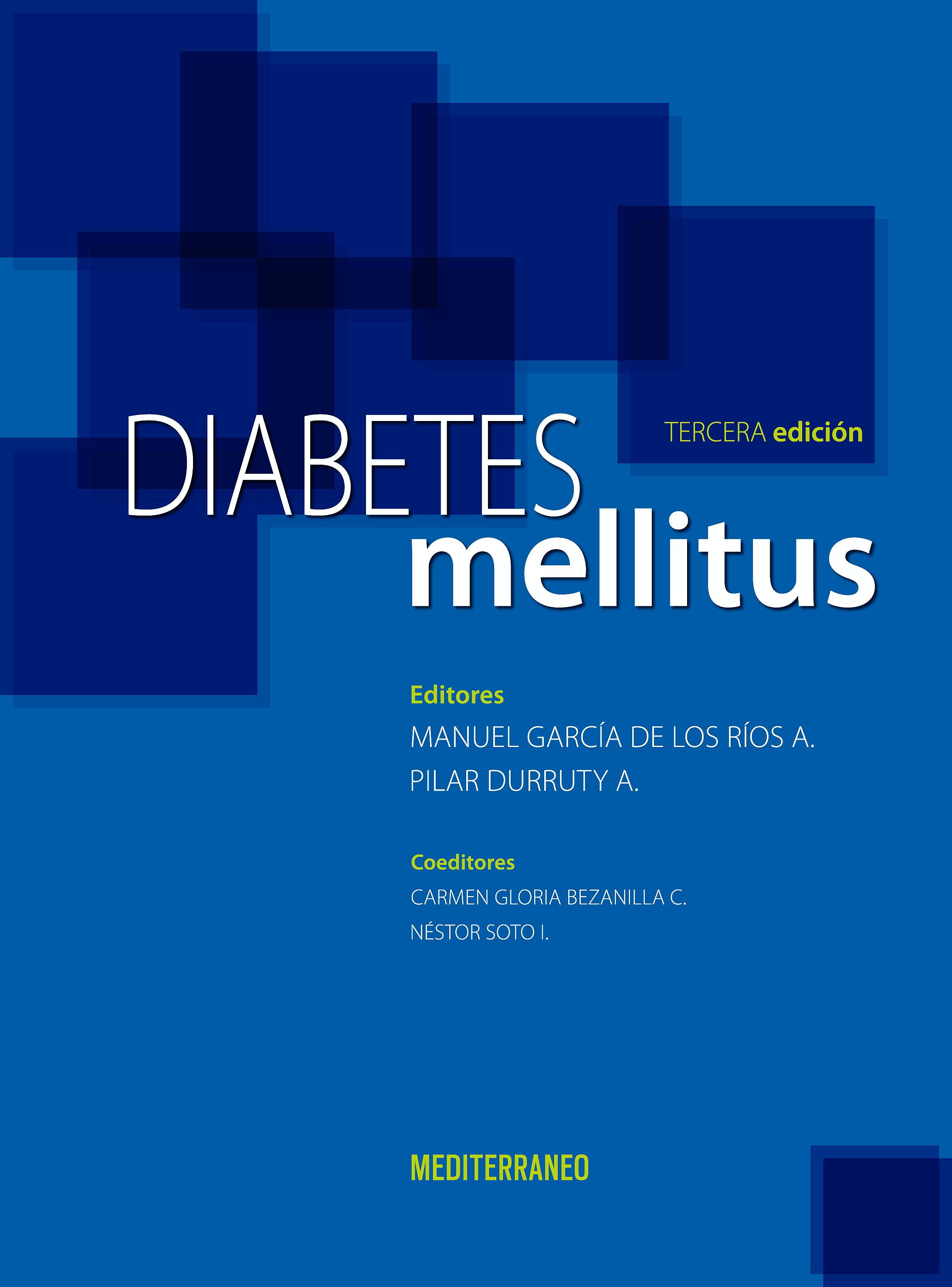 Portada del libro 9789562203616 Diabetes Mellitus