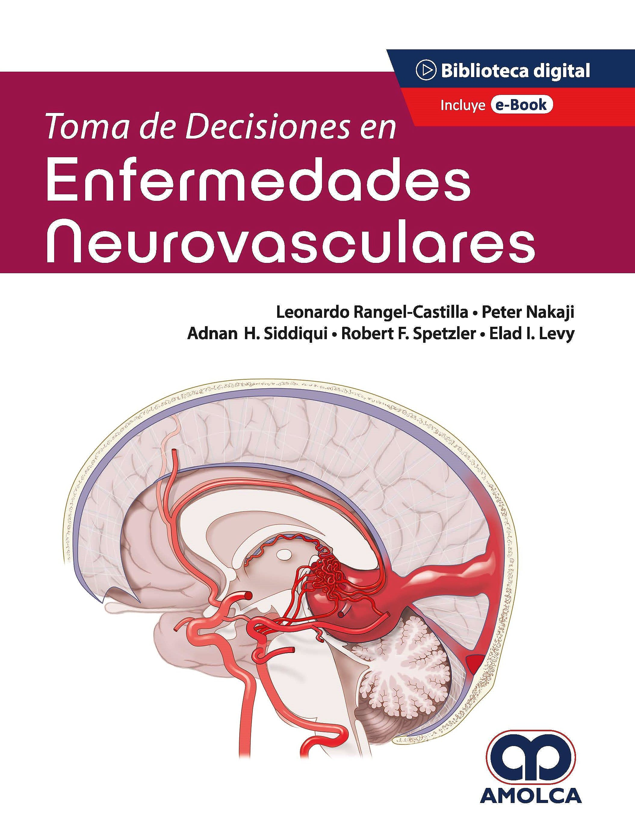 Portada del libro 9789585303607 Toma de Decisiones en Enfermedades Neurovasculares