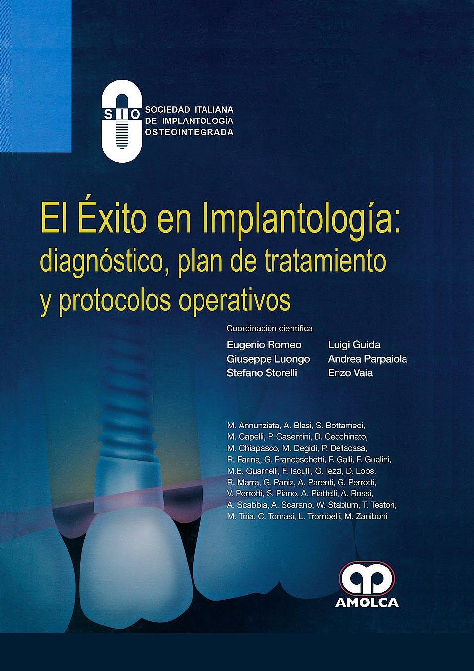 Portada del libro 9789585426191 El Éxito en Implantología: Diagnóstico, Plan de Tratamiento y Protocolos Operativos