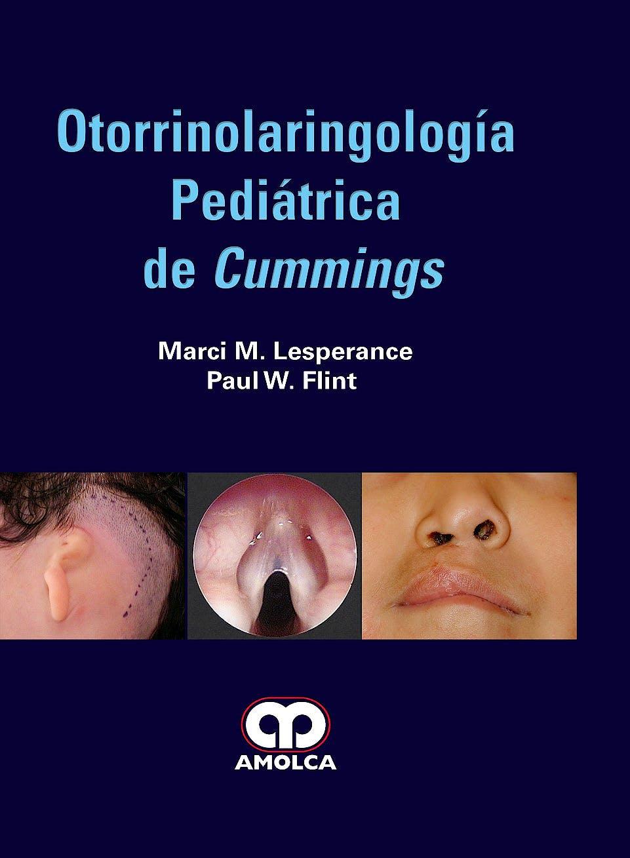 Portada del libro 9789585426399 Otorrinolaringología Pediátrica de Cummings