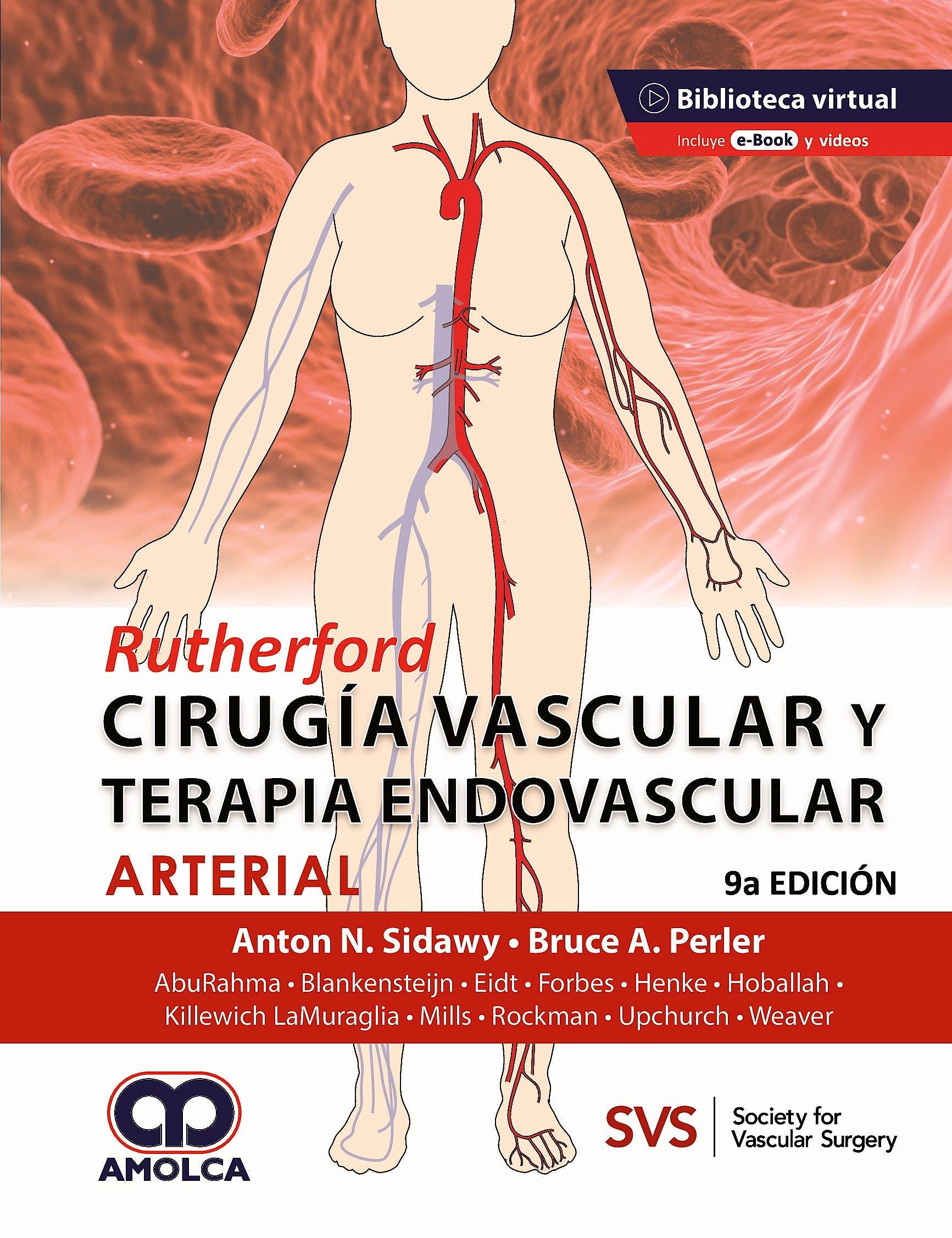Portada del libro 9789585598454 RUTHERFORD Cirugía Vascular y Terapia Endovascular: Arterial + 16 Videos