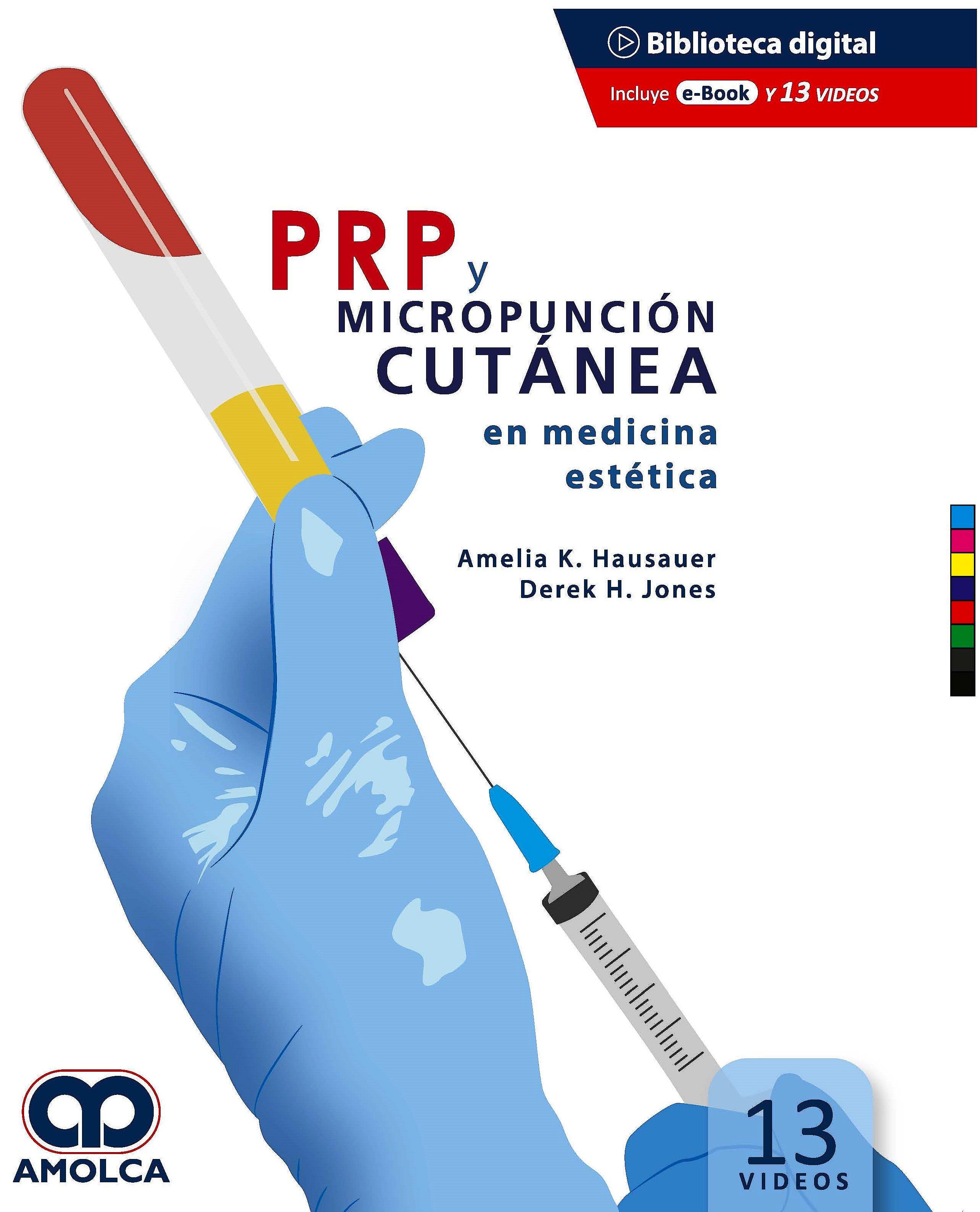 Portada del libro 9789585598614 PRP y Micropunción Cutánea en Medicina Estética (Incluye 13 Videos)