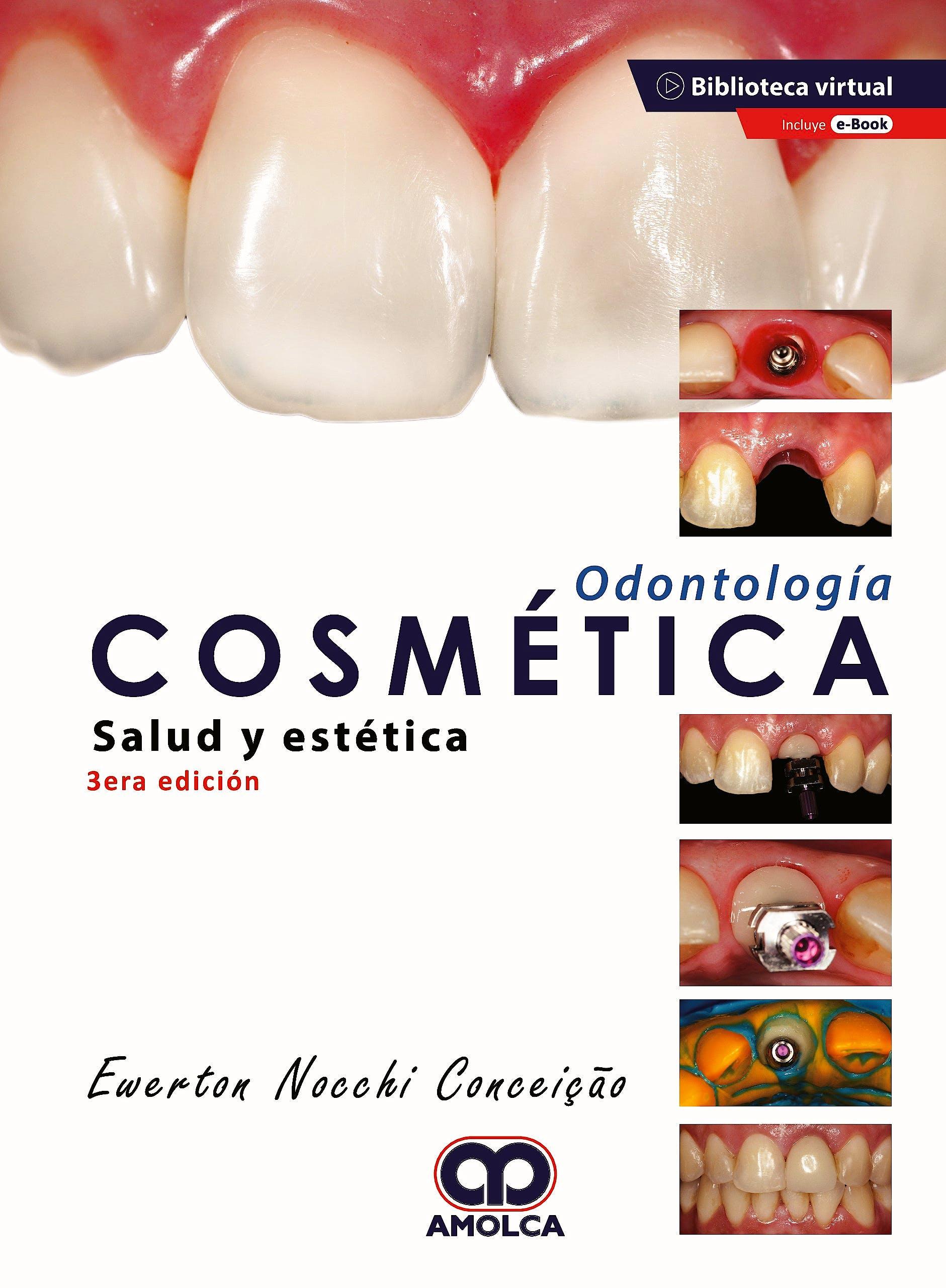 Portada del libro 9789585598638 Odontología Cosmética. Salud y Estética + E-Book