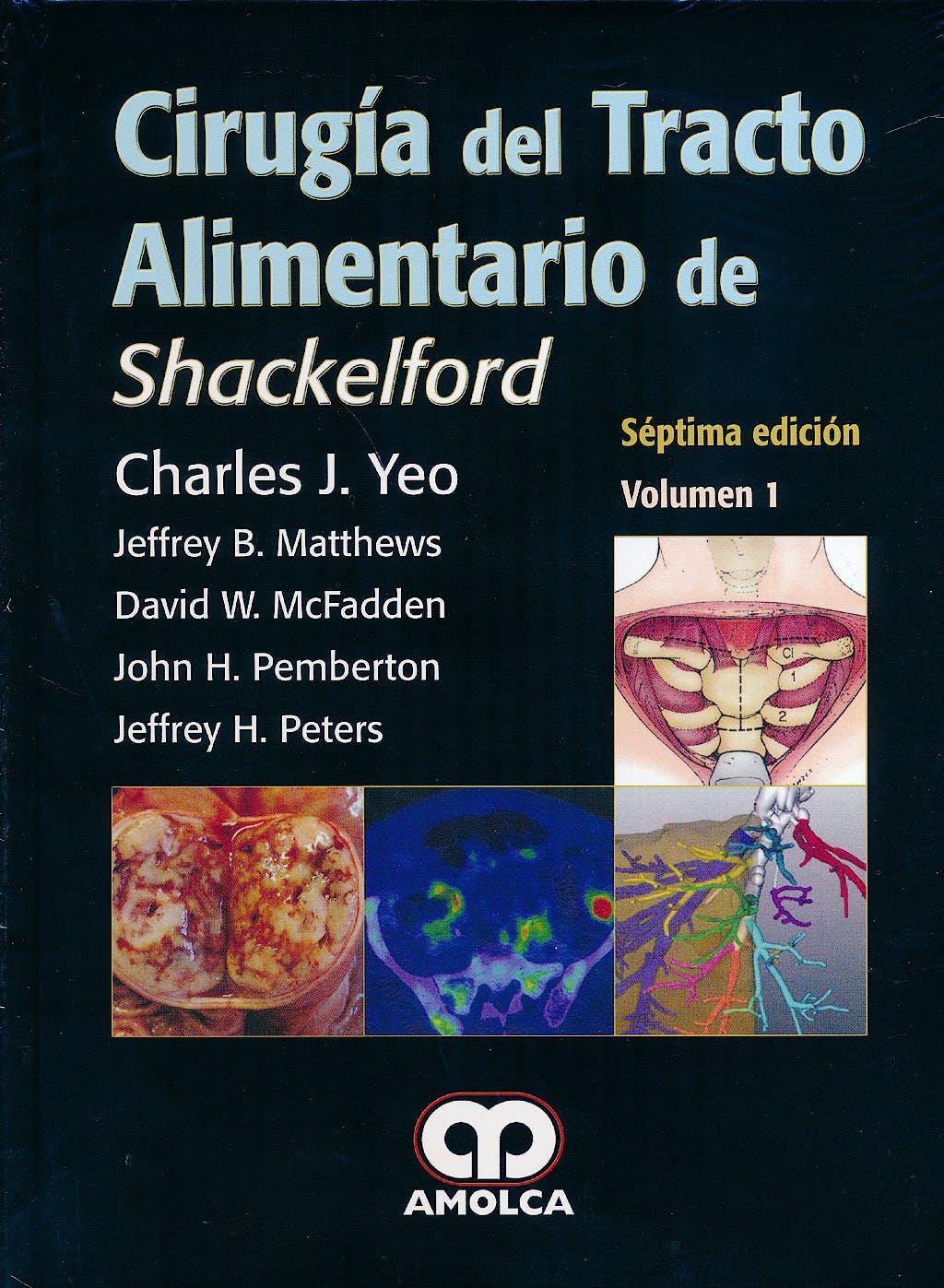 Portada del libro 9789585902091 Cirugía del Tracto Alimentario de Shackelford, 2 Vols.