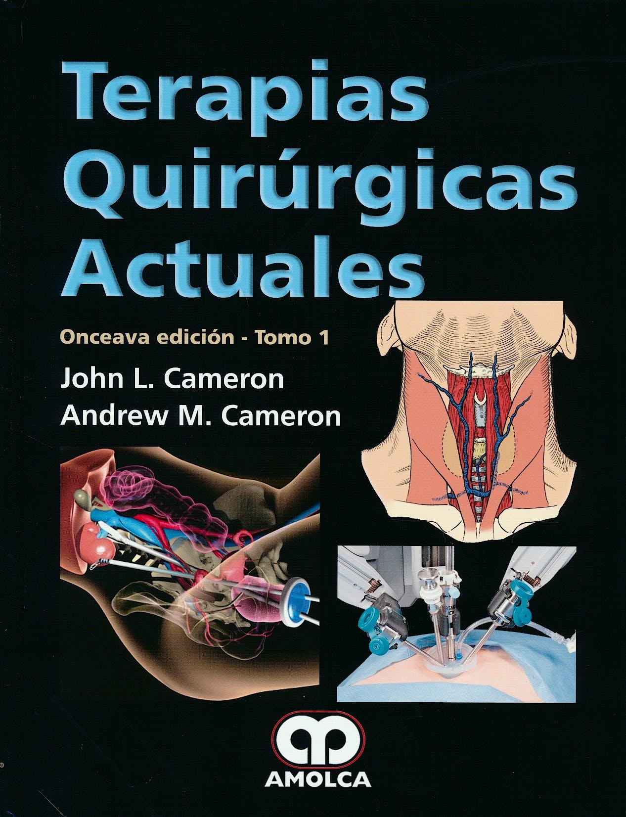 Portada del libro 9789585911352 Terapias Quirúrgicas Actuales, 2 Vols.