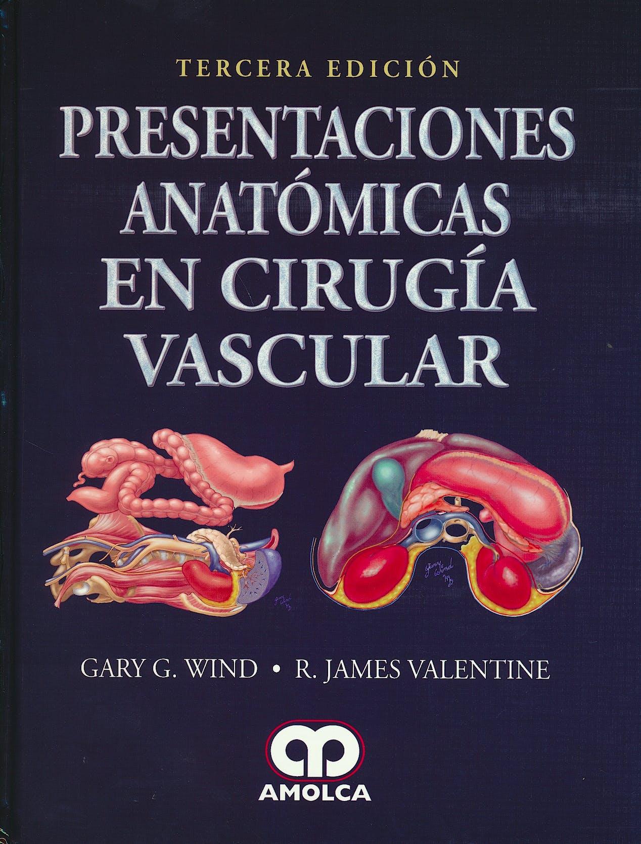 Portada del libro 9789585911390 Presentaciones Anatómicas en Cirugía Vascular