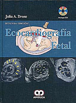 Portada del libro 9789587550245 Ecocardiografía Fetal + DVD