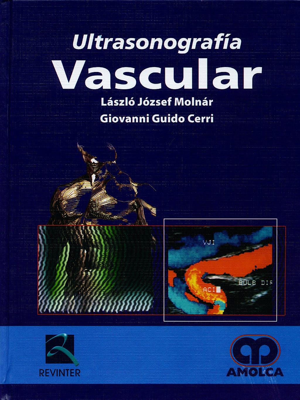 Portada del libro 9789588328447 Ultrasonografía Vascular