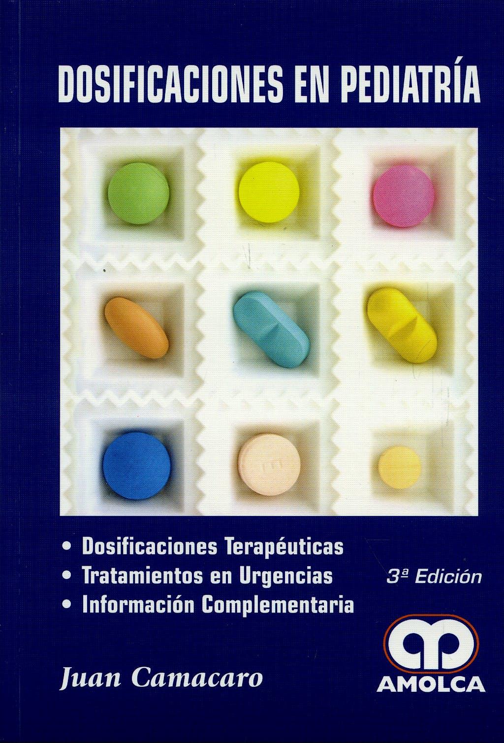 Portada del libro 9789588328690 Dosificaciones en Pediatría