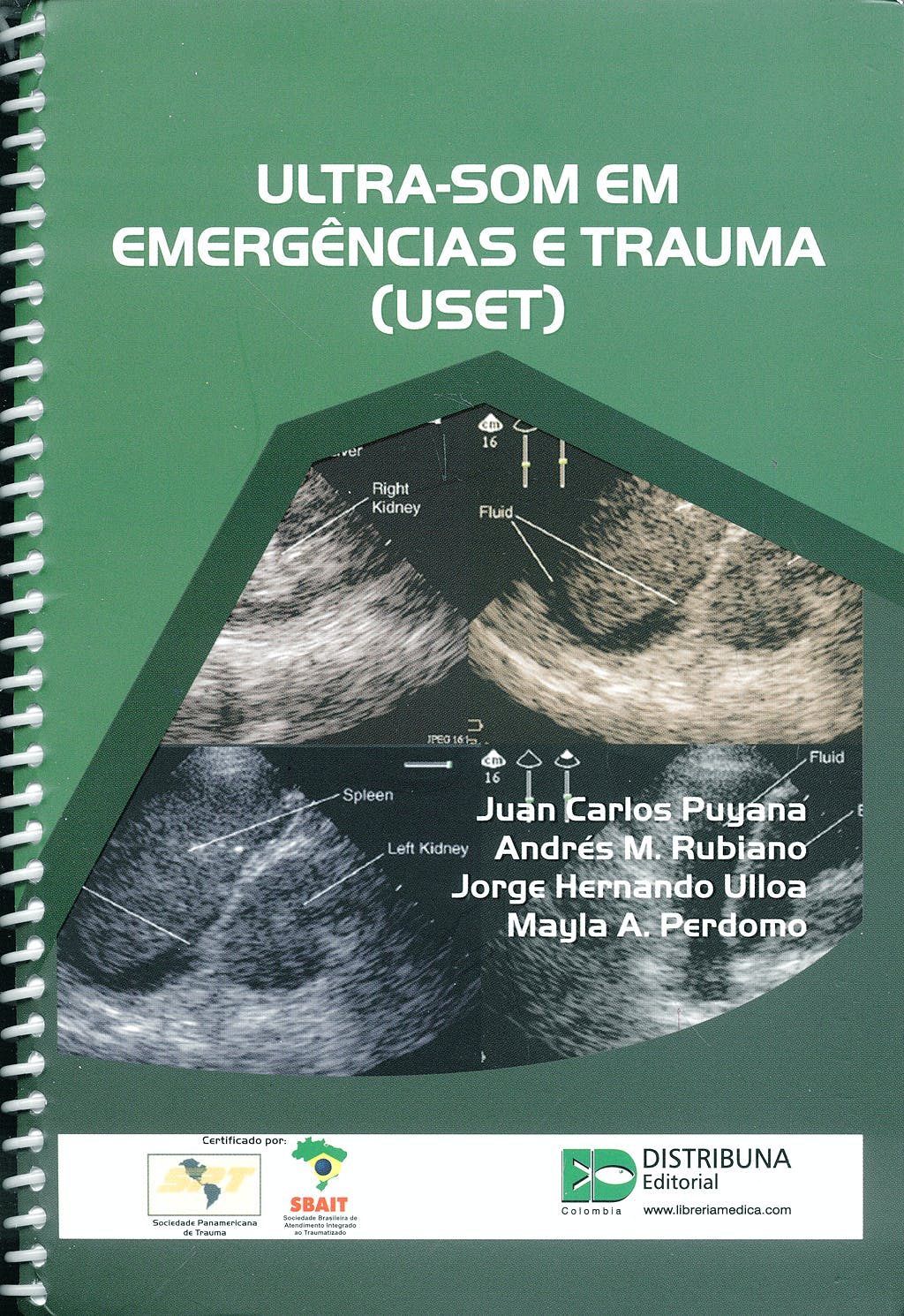 Portada del libro 9789588379111 Ultra-Som Em Emergencias e Trauma (Uset)