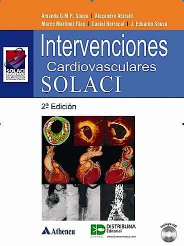 Portada del libro 9789588379180 Intervenciones Cardiovasculares Solaci + Cd