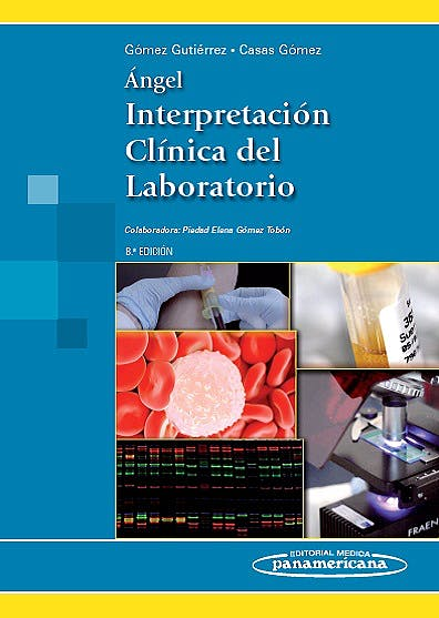 Portada del libro 9789588443379 Angel Interpretacion Clinica del Laboratorio