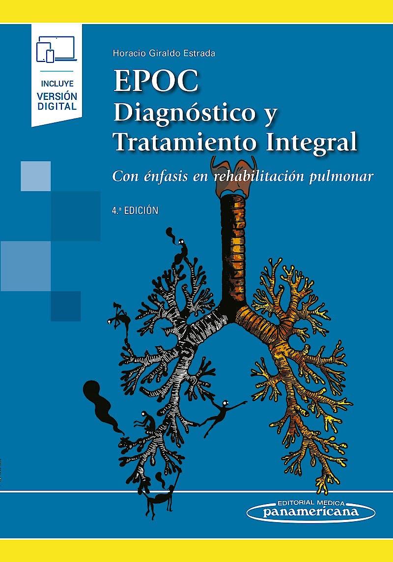 Portada del libro 9789588443829 EPOC. Diagnóstico y Tratamiento Integral. Con Énfasis en Rehabilitación Pulmonar (Incluye Versión Digital)