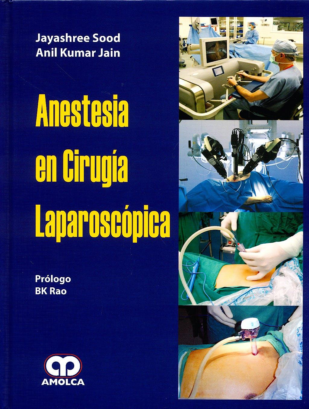 Portada del libro 9789588473284 Anestesia en Cirugía Laparoscópica