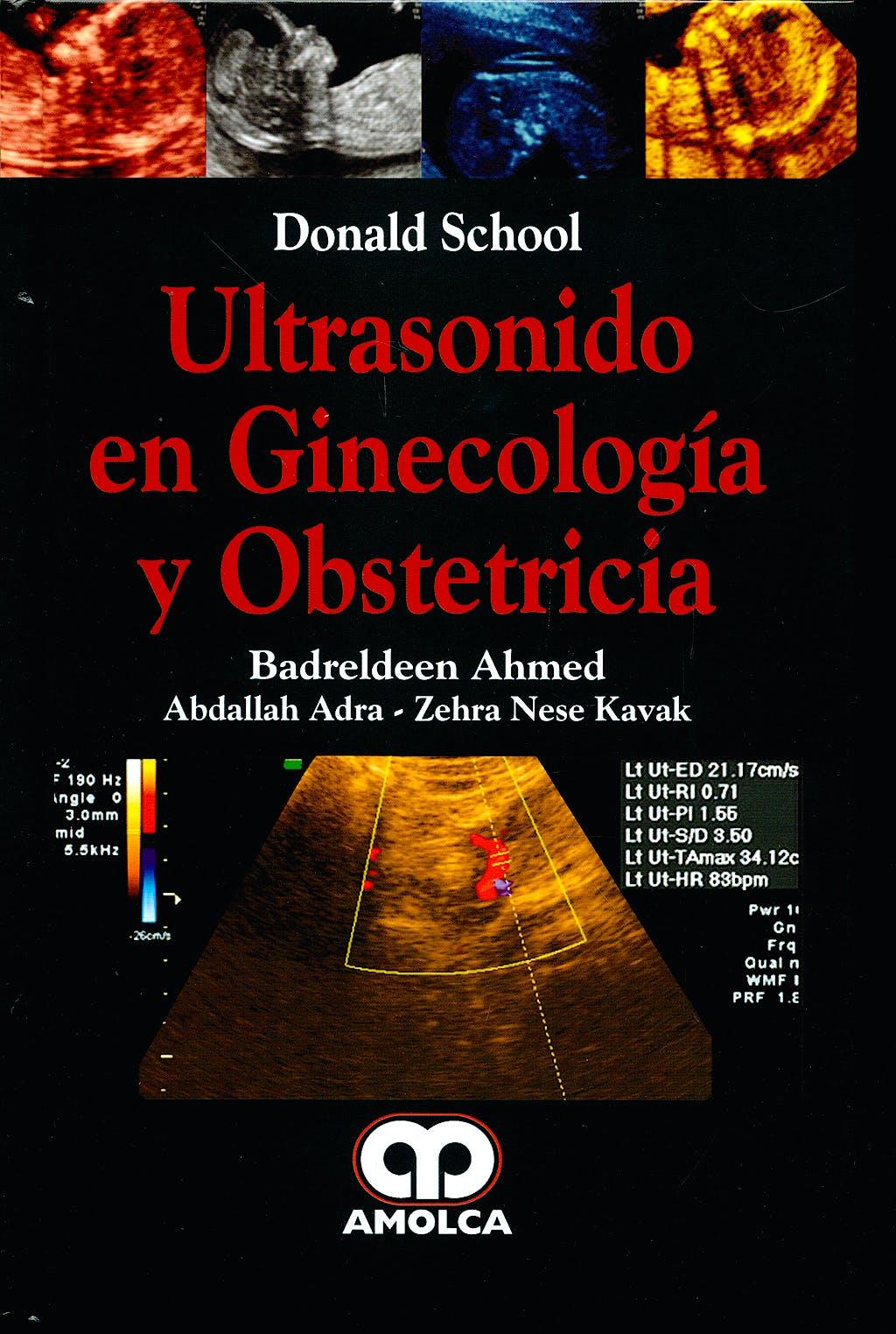 Portada del libro 9789588473390 Donald School Ultrasonido en Ginecología y Obstetricia